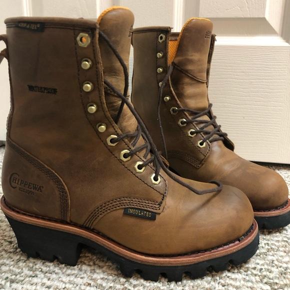 Chippewa Watika Logger Boots Womens